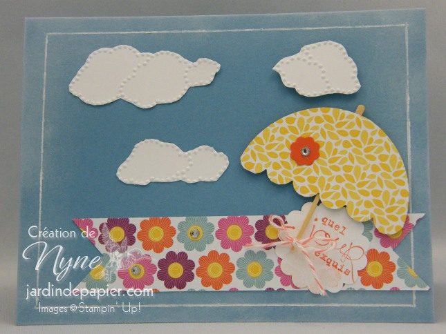 Stampin'UP, Sale A Bration, carte