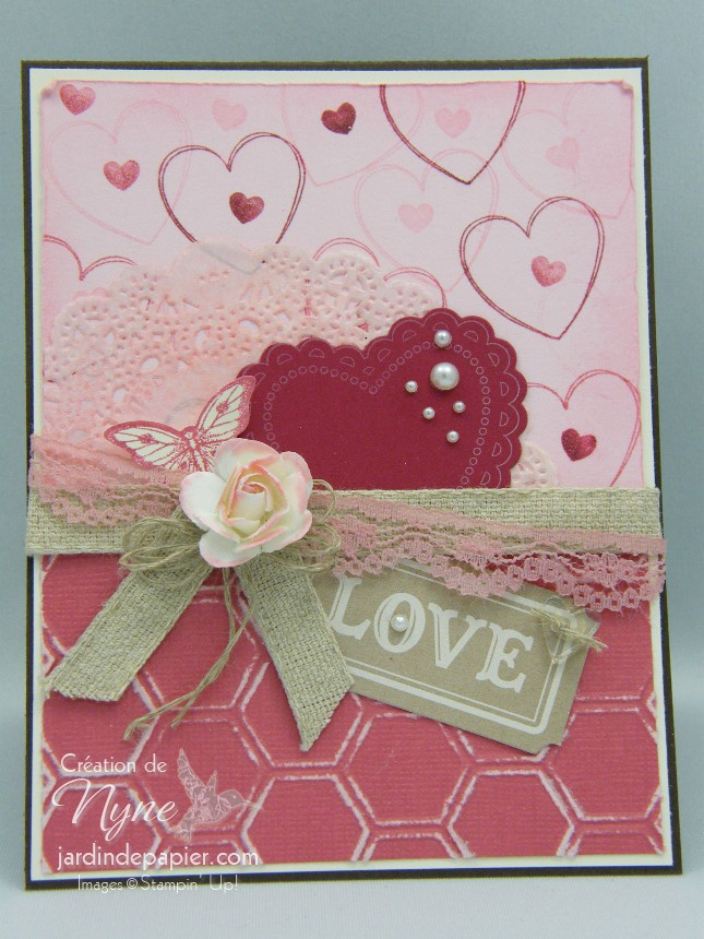 Hearts a flutter, Stampin'UP, catalogue printemps 2013