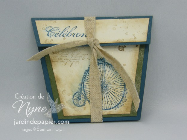 Stampin'UP, douce nostalgie, Sale-A-Bration