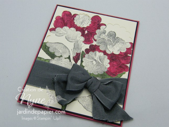Stampin'UP, jardin de papier, Spotlight, Sweet floral