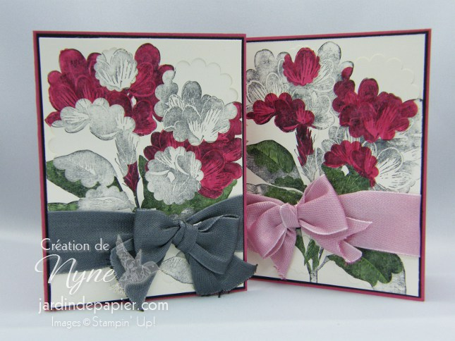 Sweet Floral, Stampin'UP, Jardin de papier, Spotlight