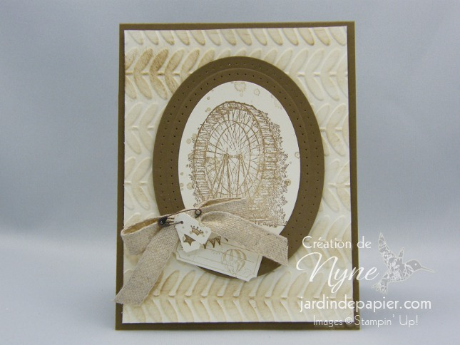 Douce nostalgie, Stampin UP, Sale-A-Bration
