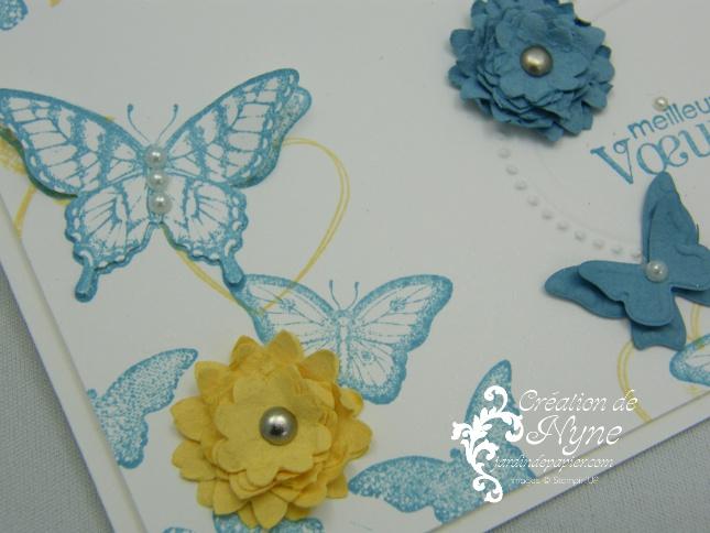 Papillon Pot Pourri, Stampin UP, Jardin de papier