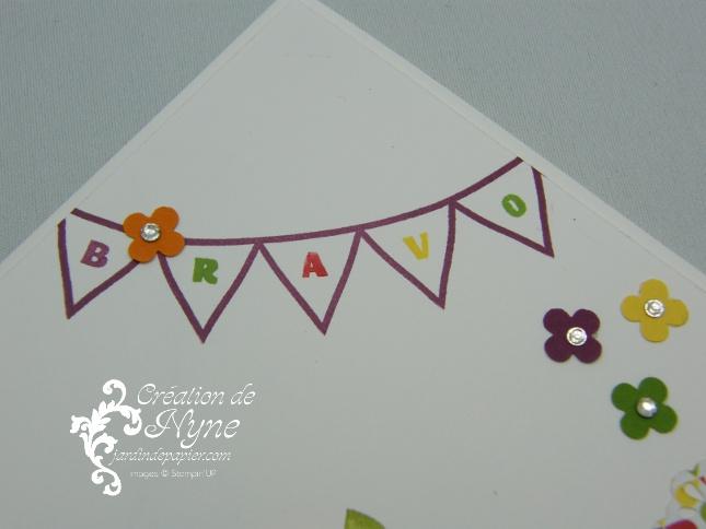 Stampin up, Designer Typeset, étampes en résine, Jardin de papier