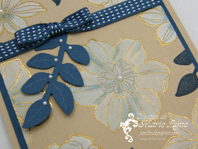 Secret garden, jardin de papier, Stampin UP, Création de cartes