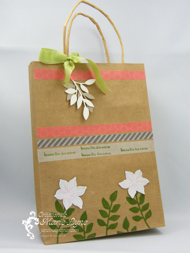This and That, Stampin up, Jardin de papier