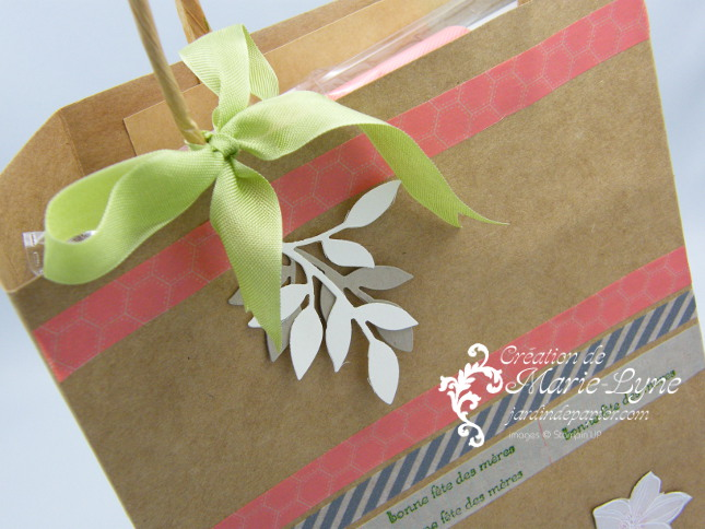 Sac This and That, Stampin up, jardin de papier