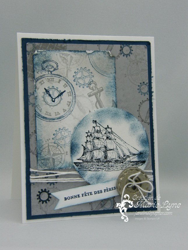 Papier-argile Simply Pressed, création de carte, Stampin'UP!, Jardin de papier