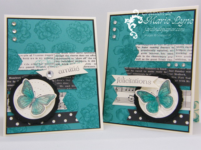 Everything Eleonor, Stampin'UP!, Jardin de papier, création de carte