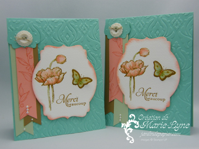 Simples esquisses, Stampin'UP!, Jardin de papier