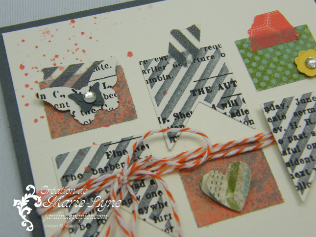 This and that, jardin de papier, Stampin'UP!, création de cartes
