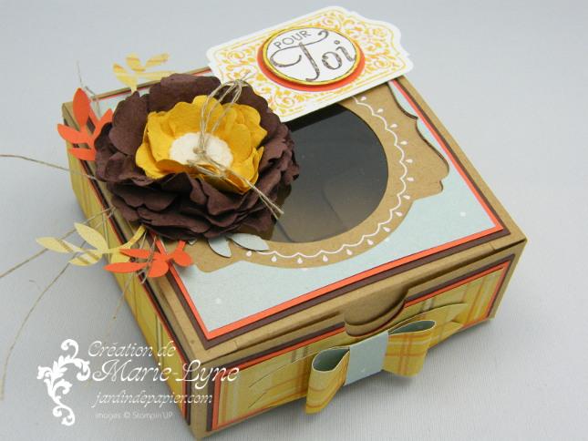Temps frisquet, Tableau noir, Stampin'UP!, création de cartes, jardin de papier