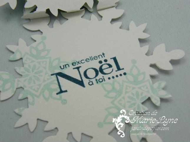 Jolis Flocons, Festive flurry, Stampin'UP!, jardin de papier, carte de Noël, scrapbooking