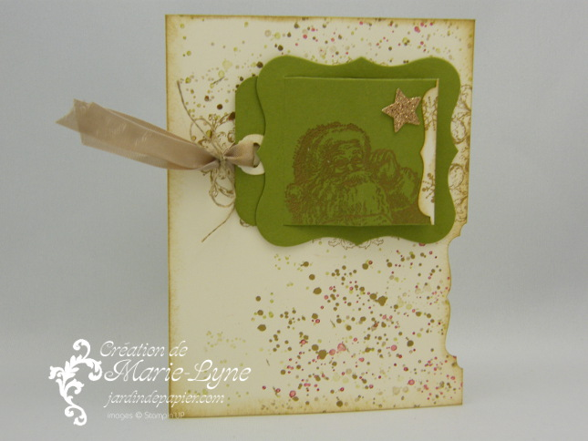 Une carte cadre cache-cache - Stampin'UP! - Scrapbooking | Stampin Up Canada | Carterie