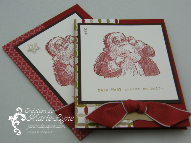 Favori Carte de Noël Stampin'UP! - Scrapbooking | Stampin Up Canada  FP02
