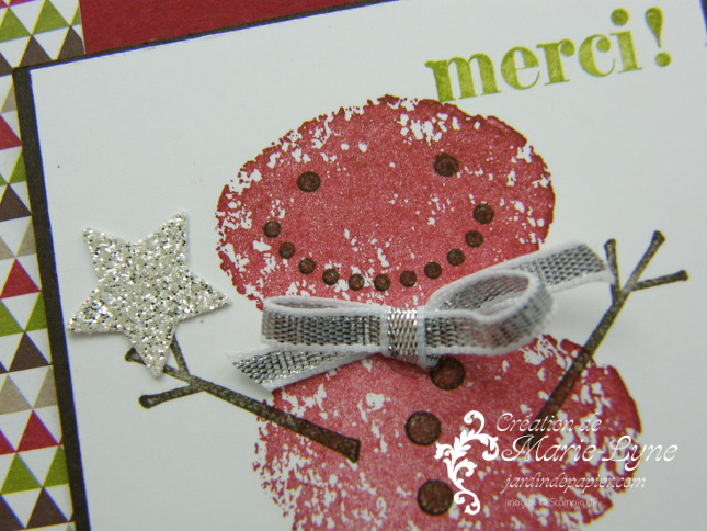 Snow Day, Stampin'UP!, Jardin de papier, Mini cartes de Noël