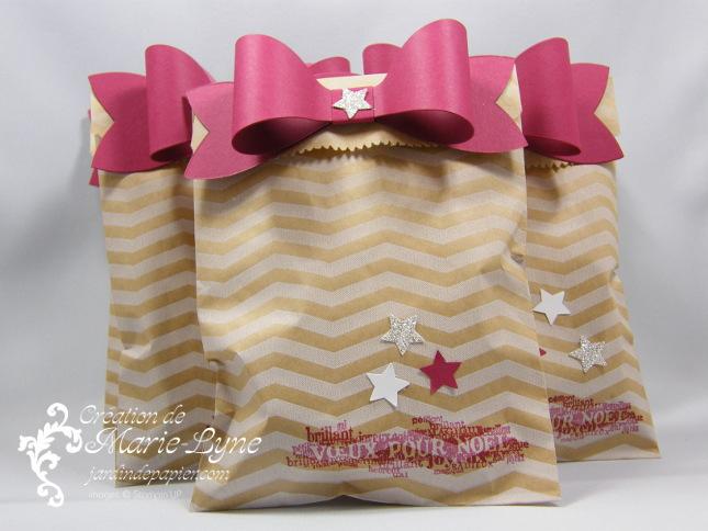 pochettes-cadeaux Étiquette-moi, Noël, pochettes-cadeaux de Noël, jardin de papier, Stampin'UP!