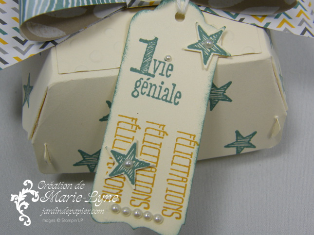 boite hamburger Stampin'UP!