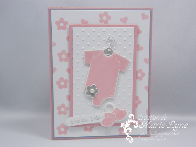 Something for baby stampin 39 up scrapbooking stampin up canada car - Idee scrapbooking amour ...