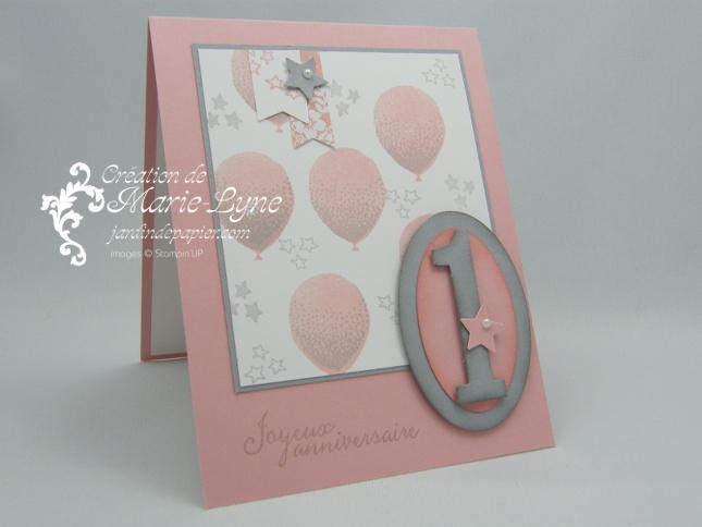 bouquet de ballons scrapbooking stampin up canada cartes d 39 anniversaire et d 39 invitation. Black Bedroom Furniture Sets. Home Design Ideas