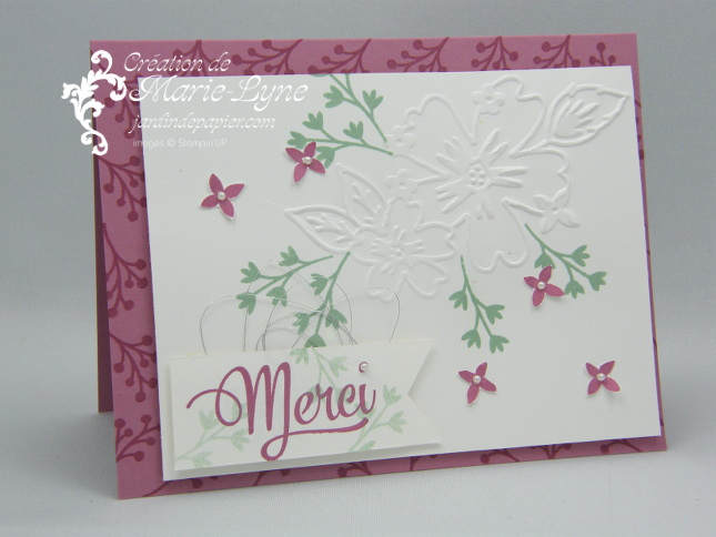 Tendresse florale – Stampin'UP!
