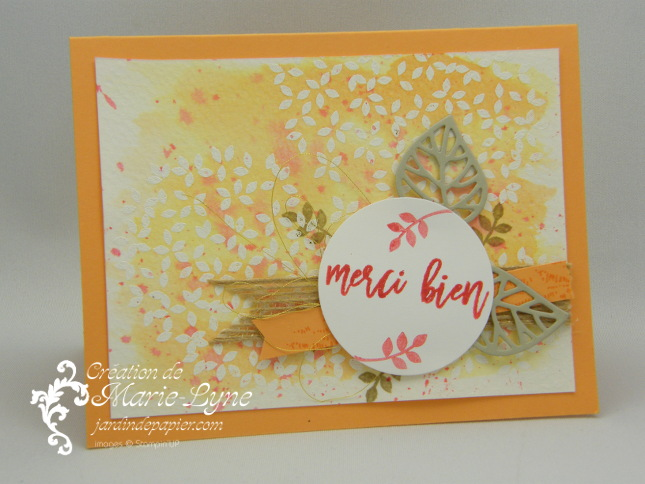 Entre les branches – Stampin'UP!