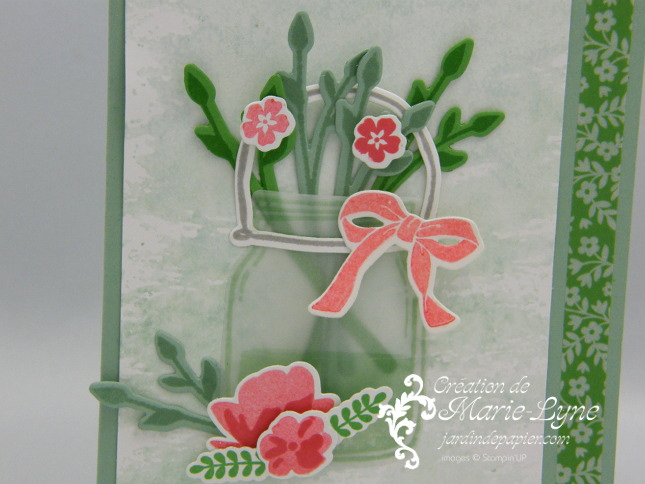 Petit pot d'amour Stampin'UP!