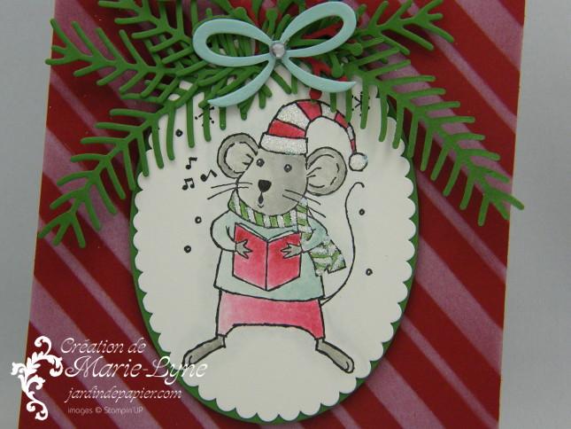 Une souris de Noël