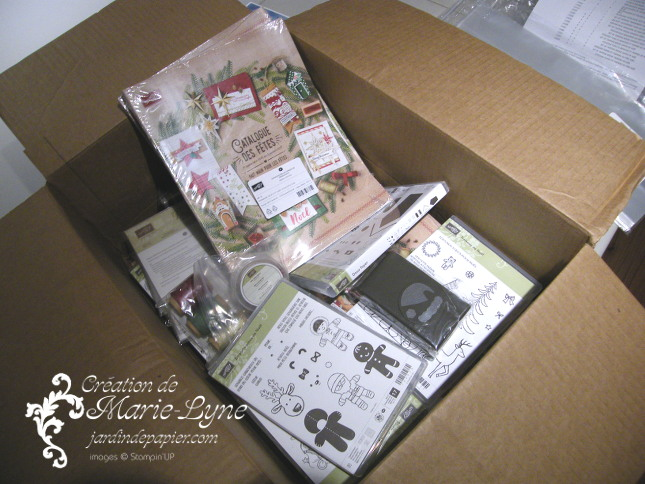 catalogue Stampin'UP! de Noël
