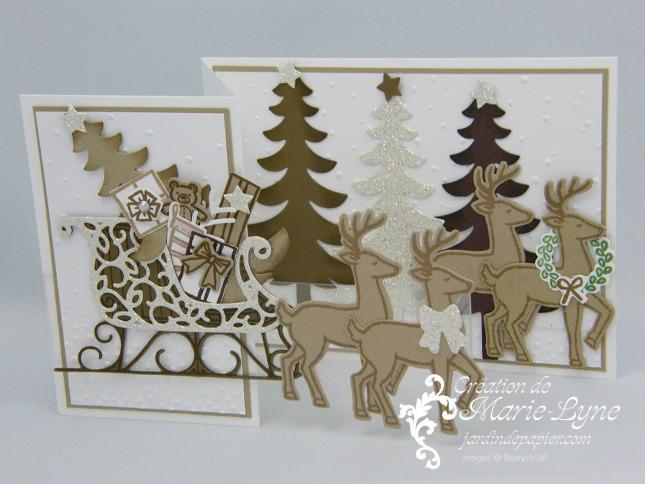 Vidéo – Carte de Noël 3D