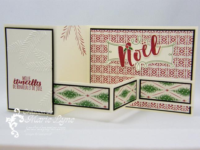 Carte Sapins de Noël