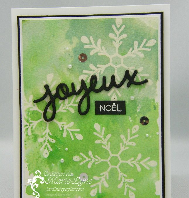 Aquarelle Stampin'UP!