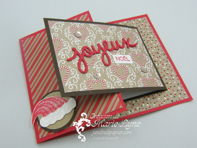 Vidéo – Carte double pliage – Stampin'UP!