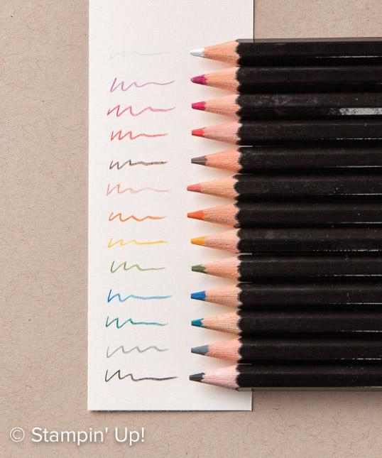 """Résultat de recherche d'images pour """"crayon aquarelle stampin up"""""""