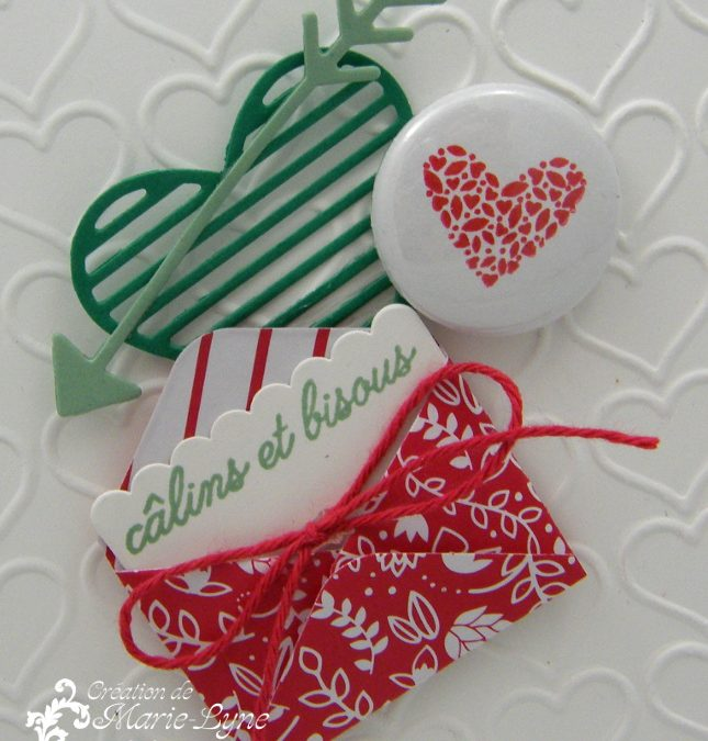 Carte St-Valentin Mots d'amour – Stampin'UP!