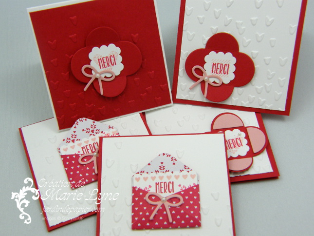 mini cartes st valentin super faciles scrapbooking. Black Bedroom Furniture Sets. Home Design Ideas