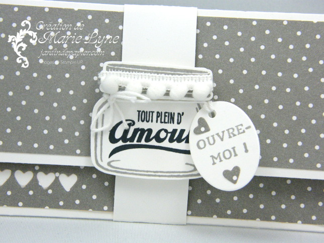 Pochette Petit pot d'amour – Stampin'UP!