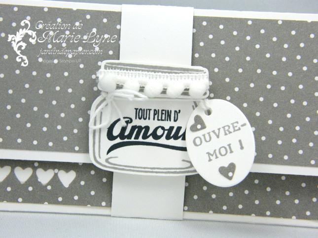 Pochette Petit pot d'amour – Stampin'UP!