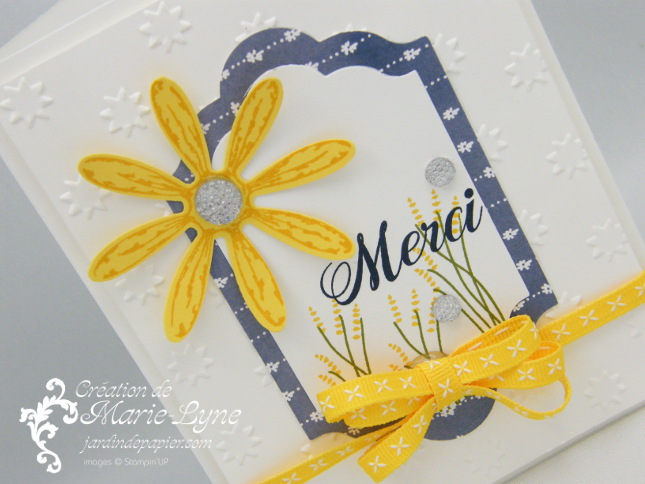 Adorable Marguerite – Stampin'UP!