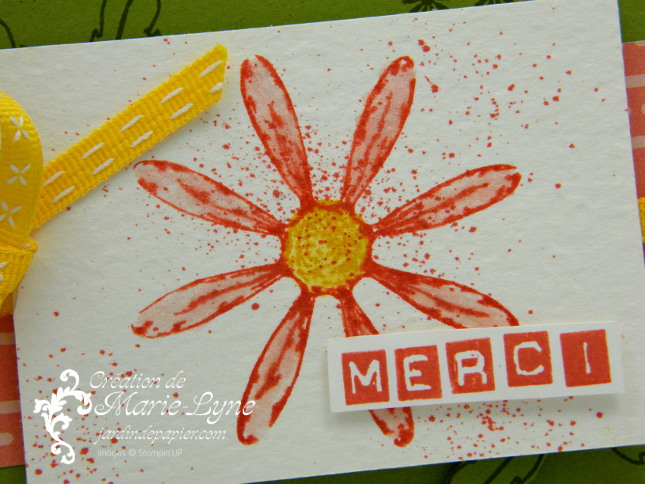 Marguerite de Stampin'UP!