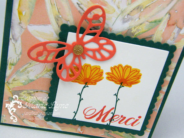 Marguerite adorable – Stampin'UP!