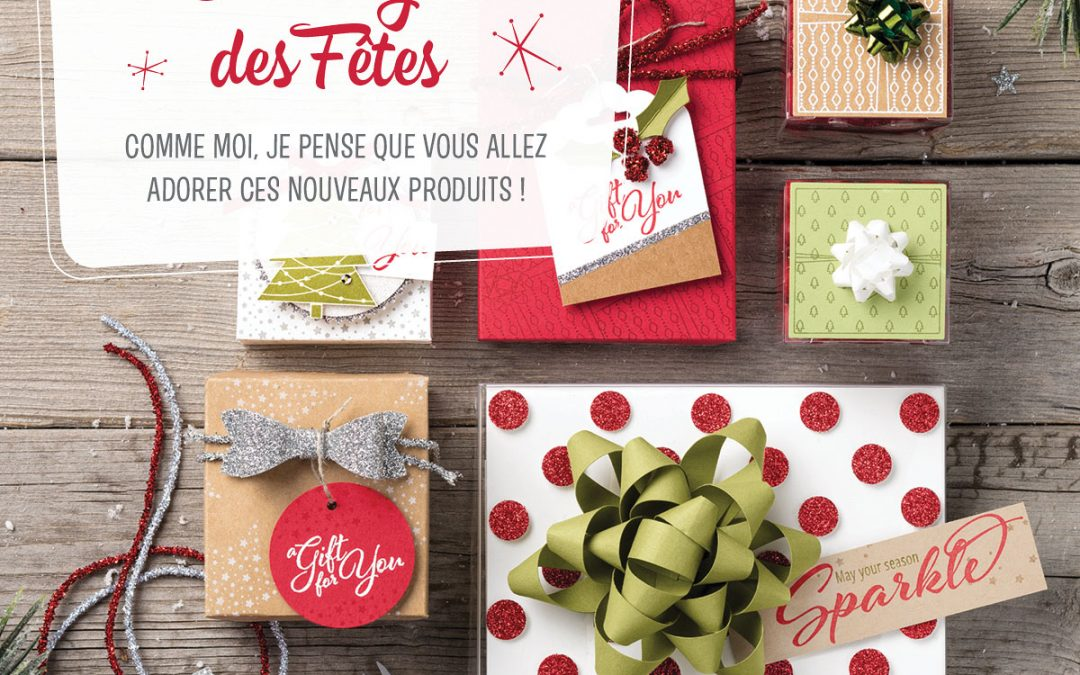 Catalogue des Fêtes 2017-2018 Stampin'UP!