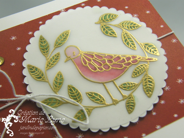 Technique du vitrail – Stampin'UP!