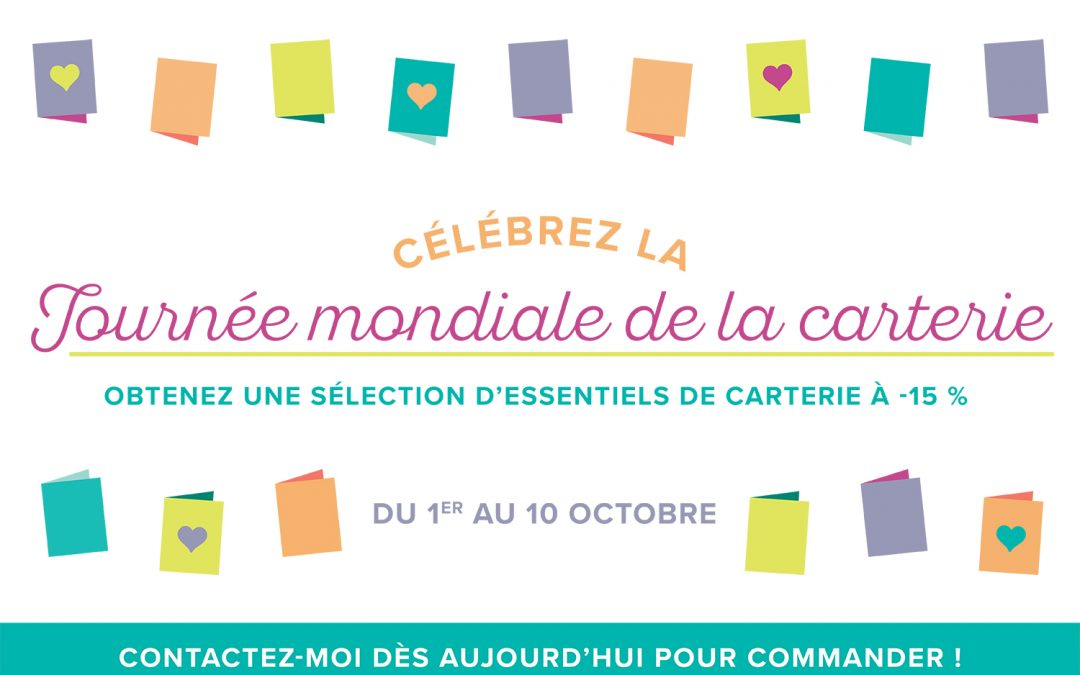Journée mondiale de la carterie – Stampin'UP!