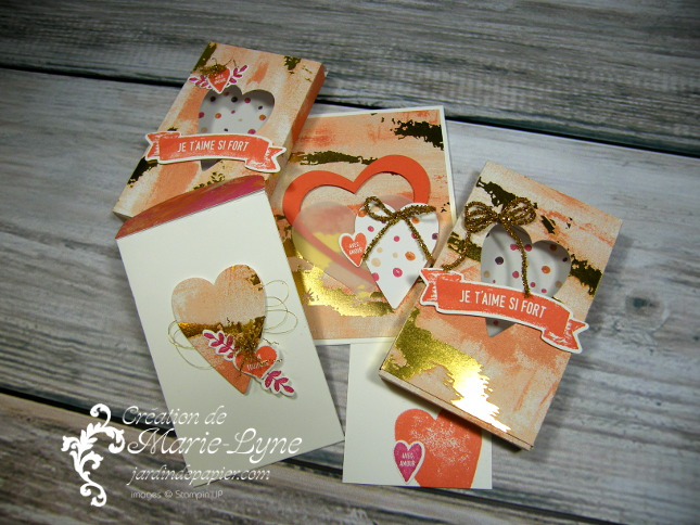 Peint avec amour – Stampin'UP!