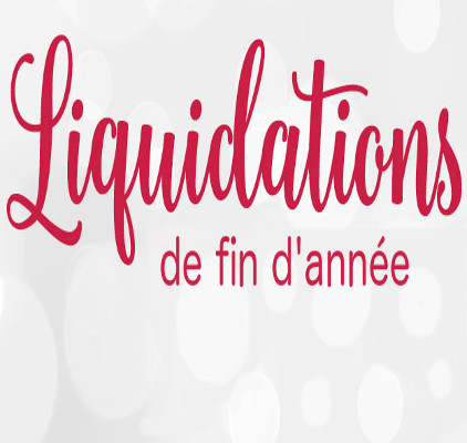 Liquidation de fin d'année 2018