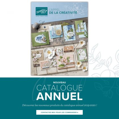 Nouveau catalogue annuel Stampin' Up!