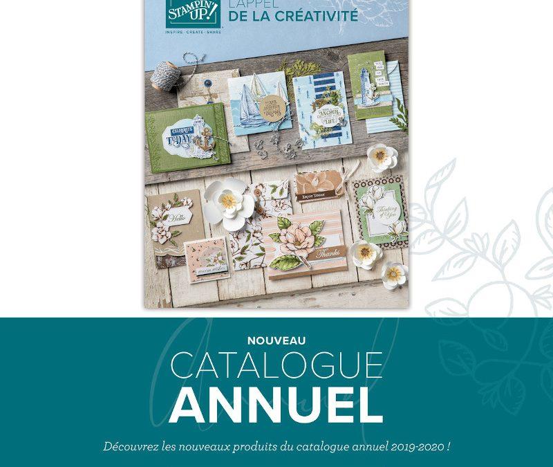 catalogue annuel de Stampin' UP!