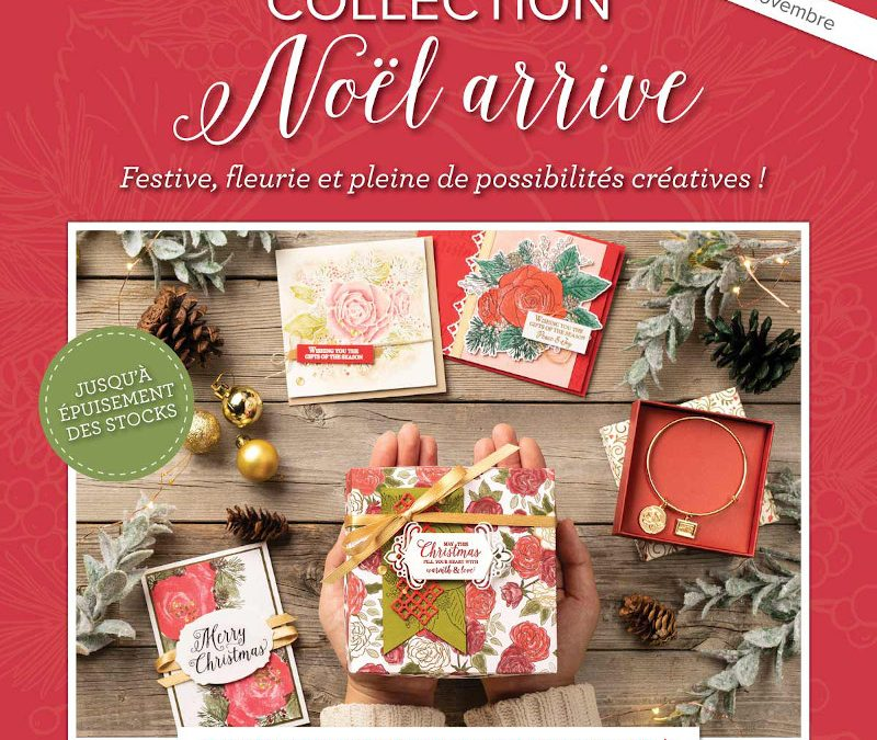 Collection Noël arrive de Stampin' Up!