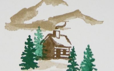 Snow front Stampin' Up!